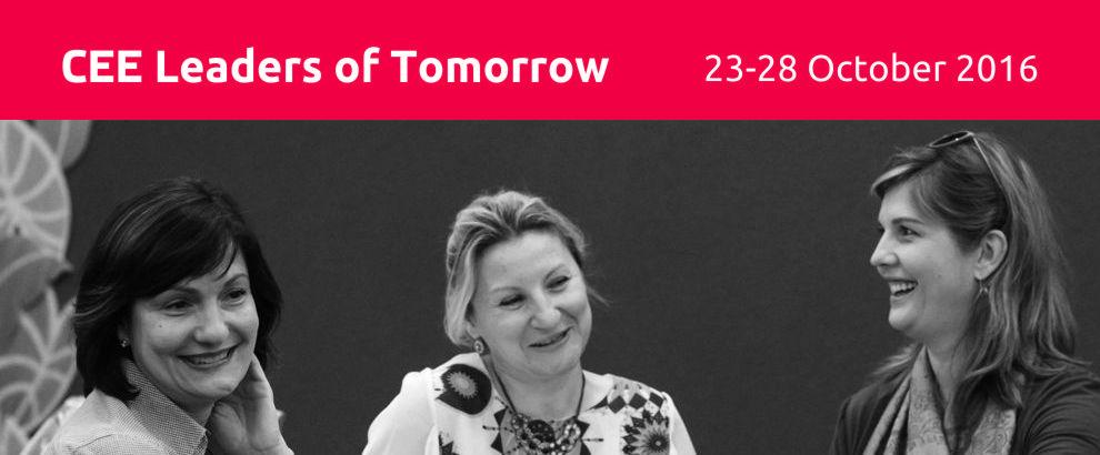 Registrujte sa na program Lídri zajtrajška 2016 už dnes!