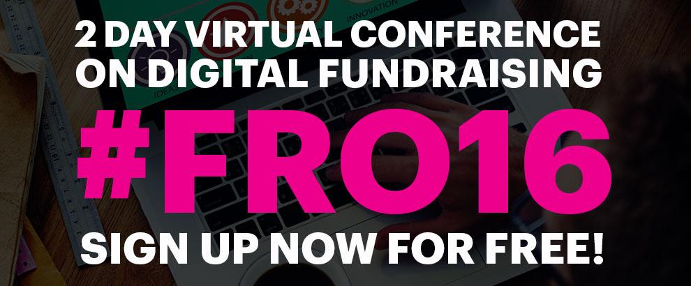 Registrujte sa zdarma na Fundraising Online 2016